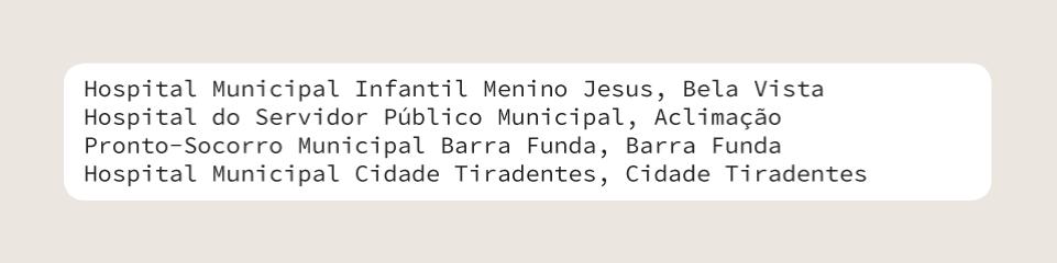 Macintosh HD:Users:cburle:Documents:W3C Br:Dados Abertos:SPUK:Guias Abertura de Dados e Web Semântica:Ilustrações:arte_final_figuras_guia_de_abertura_de_dados:PNG:lista_nomes_hospitais_pag56.png