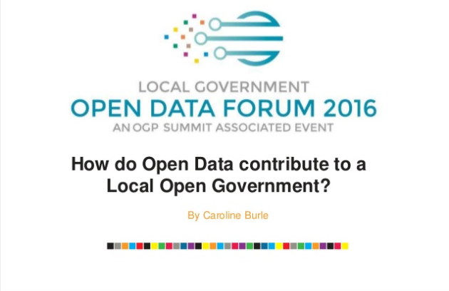 How do Open Data Contribute to a Local Open Government